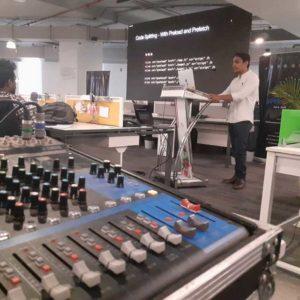 JBL DJ system rent