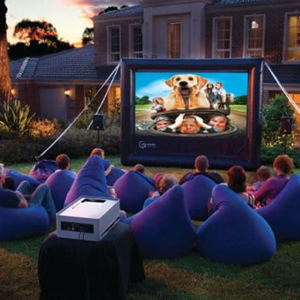 movie screen rentals for birthday parties near me