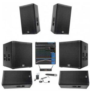 sound system rental for weddings near me